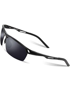 Los deportes de los hombres de Duco se divierten los vidrios polarizados 8550 del conductor de las gafas de sol...
