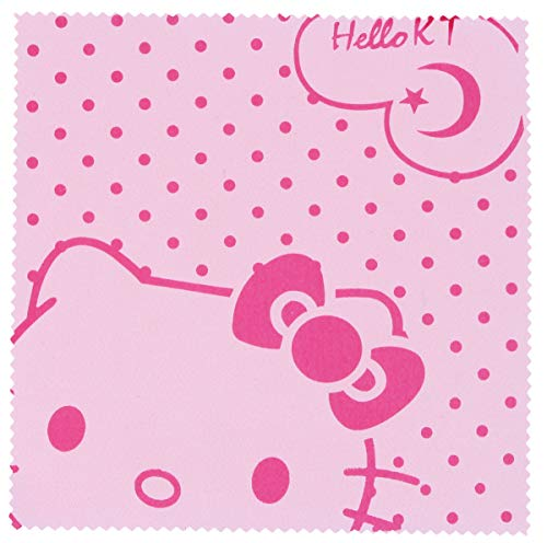 Microfasertuch zum Brille reinigen - Motiv Hello Kitty in pink
