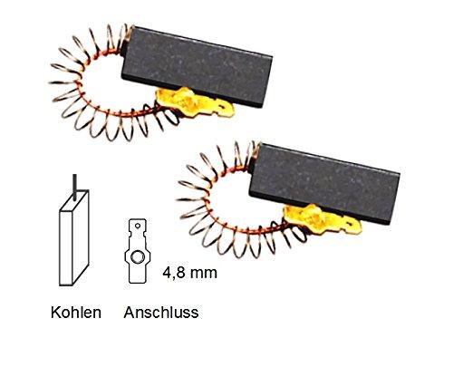 Motorkohlen Kohlestifte Kohlebürsten für Constructa Bosch Siemens Maxx 6 Maxx 7 Waschmaschine ersetzt 154740 Alternativersatzteil in Bestqualität (Kohlebürsten Bosch)