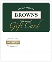 Browns Gift Card - Delivered via email