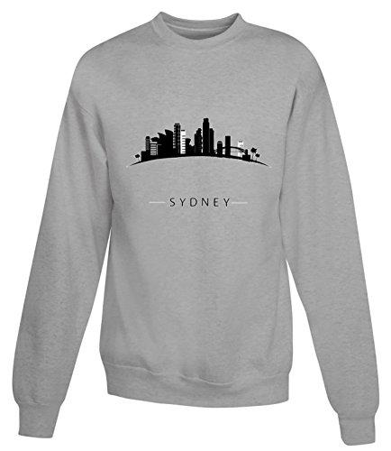 billion-group-kiss-me-forever-sydney-city-collection-womens-unisex-sweatshirt-gris-x-large