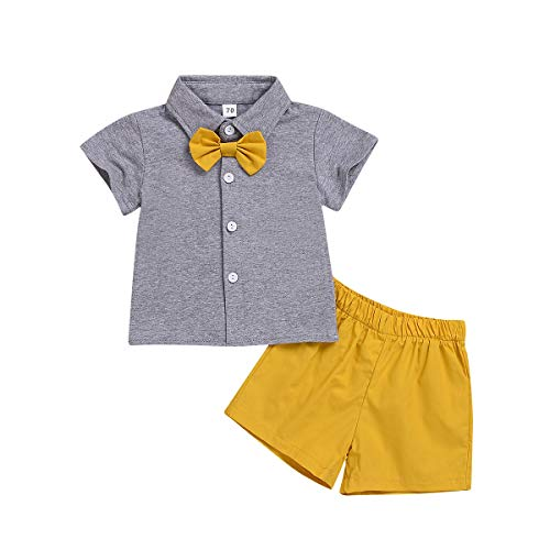 Geschwister Sommer Kleidung Set, passende Jungen und Mädchen Kurzarm T-Shirt Tops + Shorts Kleidung Set Jungen Shorts Set