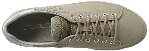 Esprit Sita Lace Up, Sneakers Basses Femme Beige (260 Light Taupe)