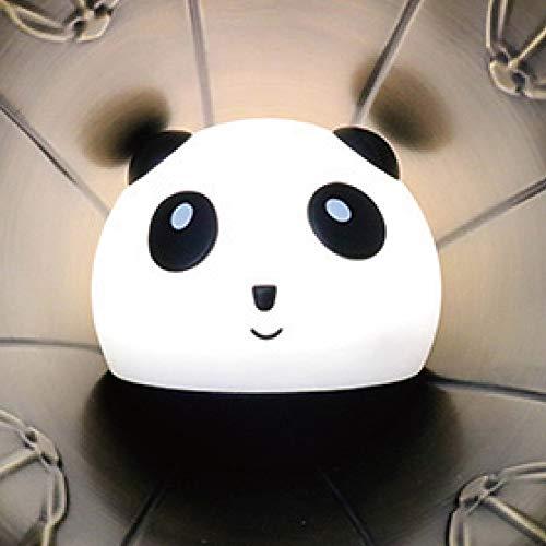 Kein 564 Modell (Hil Panda Modell Led Silikon Nachtlicht, Niedlichen Stil Kreative Geschenk Bleiben Meng Xiong Emotionale Lichter Schlafzimmer Nachttischlampen Tippen Farbe)