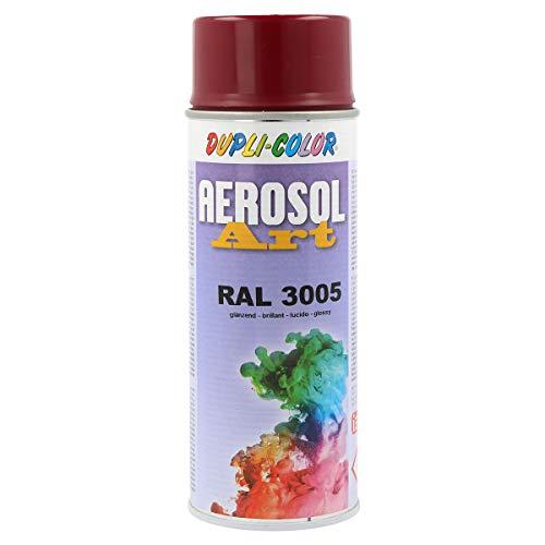 Dupli-Color 741104 Aerosol Art Ral 3005 glänzend 400 ml