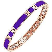 Moocare Charm Bracelets Geschenk für Frauen Einstellbare Magnetische Edelstahl-Kette Armreif mit Free Entfernen... preisvergleich bei billige-tabletten.eu