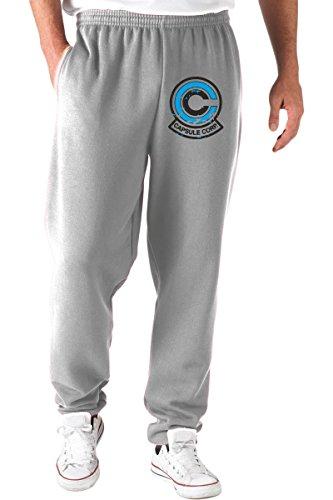 T-Shirtshock - Pantaloni Tuta TGAM0048 Logo capsule corp 2, Taglia M