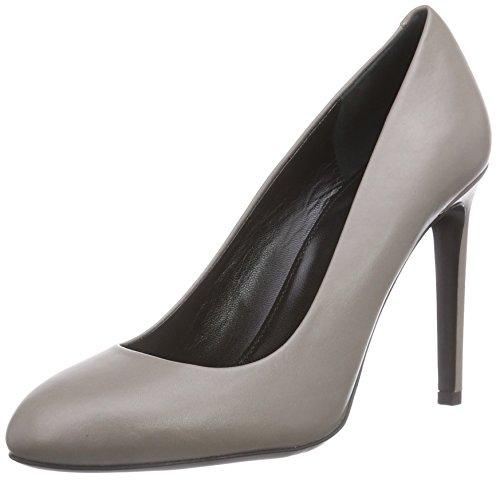 Hugo Aidith 10185229 01, Escarpins femme Gris - Grau (pastel grey 050)