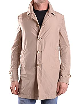 Daniele Alessandrini Hombre MCBI086473O Beige Poliéster Trench Coat