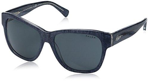 Ralph Lauren Ralph by Damen 0RA5226 163087 56 Sonnenbrille, Bluette Denim Crystal/Greyblueesolid, -