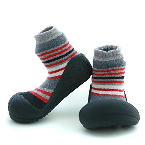 Attipas invernale collection-thick Calze, primo Walker–Scarpe neonato scarpe pantofole 6–12, 12–18, 18–24mesi, 2–3anni Red