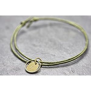 Armband Circle mini Gravur vegan Freundschaftsamband personalisiert