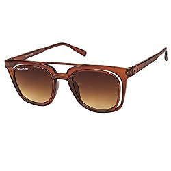 Danny Daze Wayfarer Sunglass (Brown)(D-028-C4)