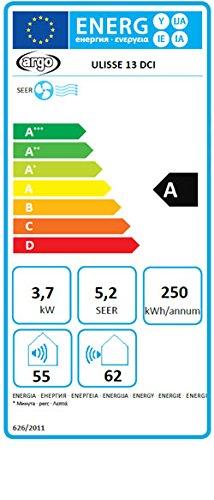 Ulisse 13 DCI – mobiles Inverter- Splitklimagerät, 4,0kW Leistung für ca. 110m³ - 6