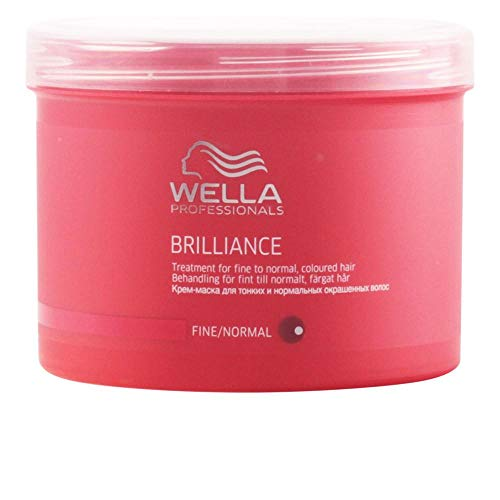 WELLA Professionals Brilliance Haarkur für grobes, coloriertes Haar, 1er Pack (1 x 500 ml)