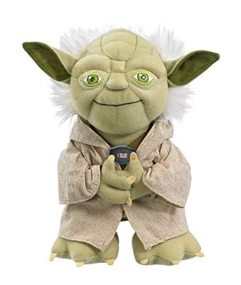 Joy Toy 100172 - Star Wars peluche parlante Yoda en expositor (23 cm) por Joy Toy - Star Wars