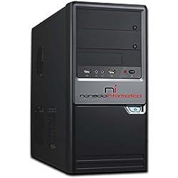 PC DESKTOP INTEL QUAD CORE RAM 8GB HD1TB DVD/HDMI + Wi Fi FISSO COMPLETO ASSEMBLATO ATX 500W CON SISTEMA OPERATIVO WINDOWS