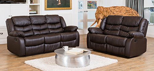 Windermere Luxury Leather Recliner Sofa Suite Different