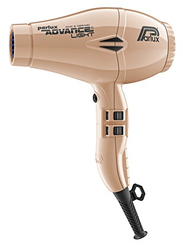 Parlux Advance Light - Secador de pelo ionico, Dorado