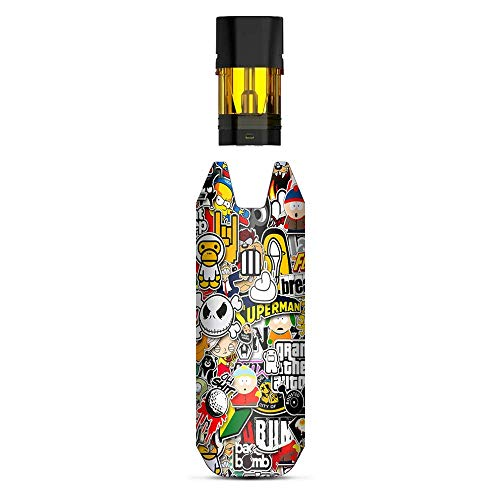 Aufkleber für Sticker, Vinyl, kompatibel mit STIIIZY BIIIG Big TM Premium Vaporizers Sticker Sleeve Cover - Vape Stickers Skins Cover - Sticker Slap