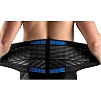 EONSMN Einstellbare Neopren Doppel Pull Lendenwirbelstütze Untere Rücken Gürtel Klammer für Rückenschmerzen und... preisvergleich bei billige-tabletten.eu