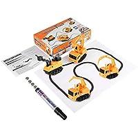 1 Unids Magic Mini Pen Automático Inductivo Serie de Modelos de Coches de Juguete Rompecabezas SIGA Cualquier Línea Dibujada Juguetes para Niños Niños Niños - Comparador de precios