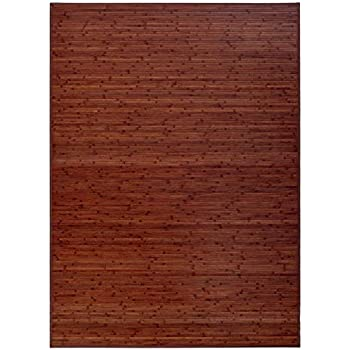 Tappeto in Legno color Noce. Bamboo: Amazon.it: Casa e cucina