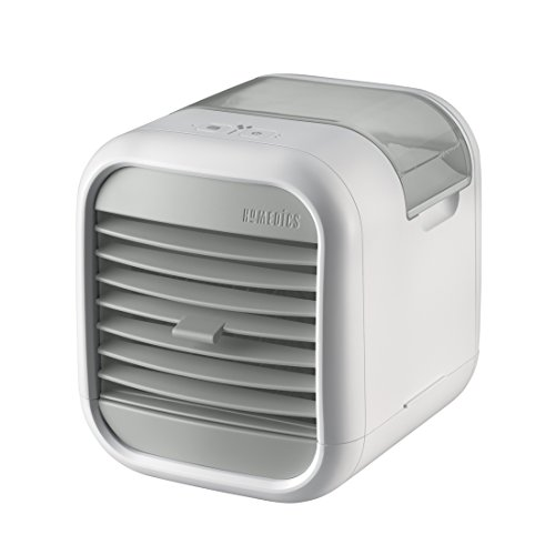HoMedics MyChill Personal Space Cooler, Chill Room by up to 7 Degrees, 1.2m Cooling Area, 2 Fan Speeds, Adjustable Louvre, Clean Water Tank Technology, Perfect for Office, Lounge, Bedroom - White