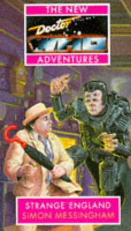 Cover of Strange England (Dr Who)