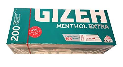 Gizeh Mentolo extra Guaina-Filtro 1000 (5 x 200)