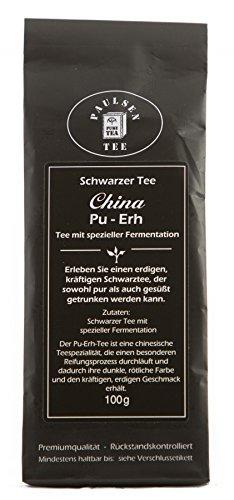 Paulsen Tee Schwarzer Tee China Pu-ERH 100g