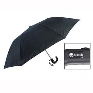 Herren Automatik Regenschirm schwarz Drizzles UU104