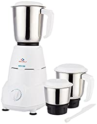Bajaj Rex 500-Watt Mixer Grinder with 3 Jars (White) Online at Low Price in India