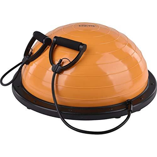 top | vit® Balance Trainer für Koordinations- und Geschicklichkeitsübungen im Sport und Fitnesstraining (orange)