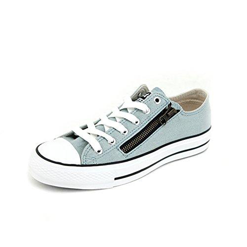 Les chaussures de toile d'automne/ plat-basse coupe/Casual tirette respirant chaussures A