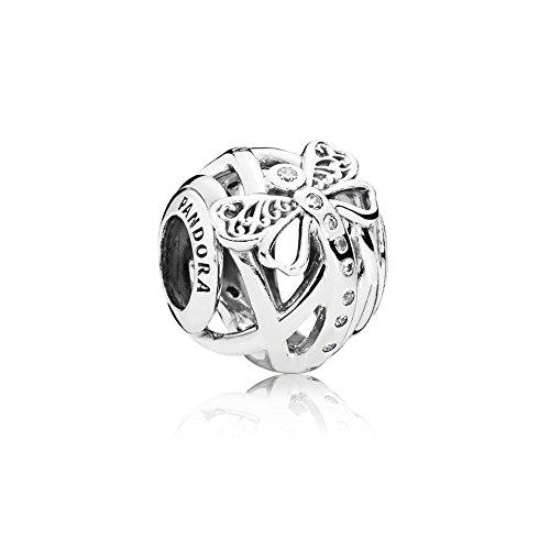 Pandora Bead Charm Donna argento 797025CZ 1 pezzo