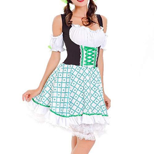 Oktoberfest 2020 Damen Kleider, Dirndl Ladies 'Beer Festival DienstmäDchen KostüM Bier Festival Kleid Sexy Dessous Kleid Maid'S Kleidung Cosplay KostüMe Von - Schwangere Lady Kostüm