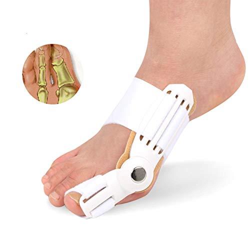 Wangxn correttore di borsite big toe splint brace bunion pain relief per l'alluce valgo raddrizzatori dei piedi,white