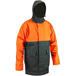 LMA–Chaqueta de lluvia, color caqui/naranja, multicolor, 2091 FOUDRE