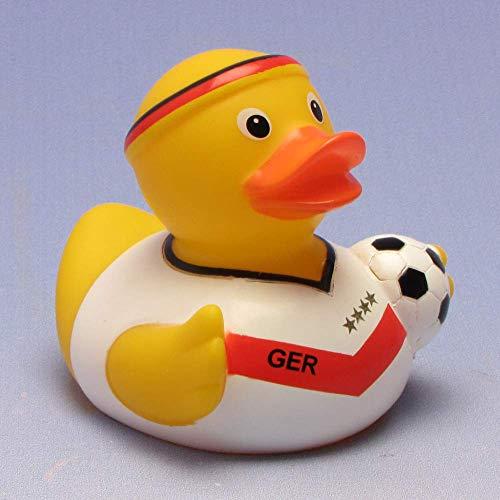 Duck Boutique I Canard de bain équipe de football I Canard de bain I L : 8,5 cm