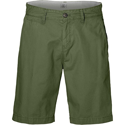 O'Neill Herren Friday Night Chino Shorts Streetwear, Bronze Green, 36