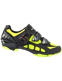Massi Drake - Zapatillas de ciclismo MTB unisex, multicolor/neón, talla 44