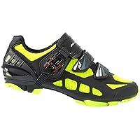 Massi Nexus Kimera - Zapatillas para Hombre, Color Negro/Amarillo, Talla 44