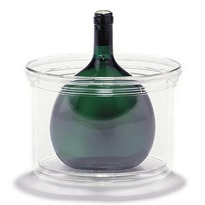 Bocksbeutel Flaschenkhler Acryl 220x140x150mm