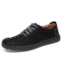 Zapatos de cuero casual de...