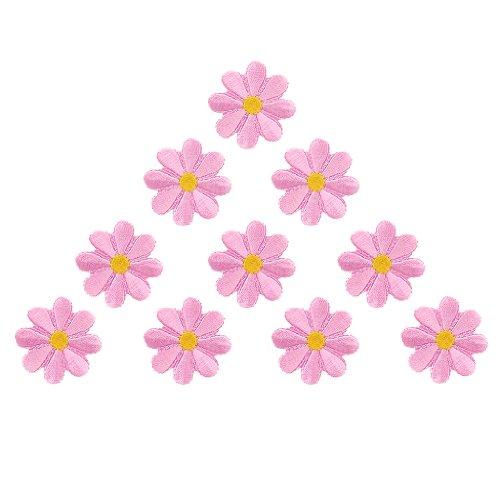 10pieza Stick APPLI kationen Flores, rosa, 1,5 Zoll