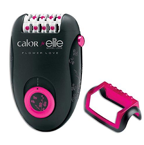 Calor for Elite EP2802C0 Épilateur Électrique Jambes et Corps Flower Love Kit pour Débutantes