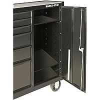 Bahco vassoio metallo regolabile per carrelli con armadio in laterale 1470kxlc-tray