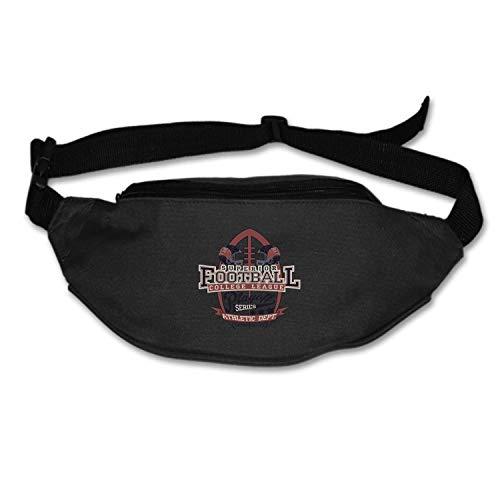Running Belt Waist Pack, Sports Runner Bag Pouch Adjustable Fanny Pack for iPhone Samsung, Sweatproof Workout Waist Bag for Men Women Hiking Fitness Jogging -Rugby Samsung Rugby