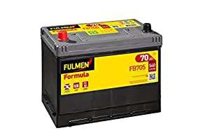 fulmen batterie voiture fb705 12v 70ah 540a high tech. Black Bedroom Furniture Sets. Home Design Ideas